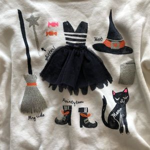 Carters Halloween Witch Long Sleeve - Like New!